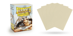 Dragon Shield Sleeves - Matte Ivory - 100ct
