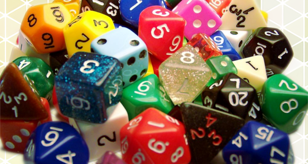 10 Assorted Dice