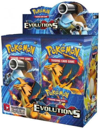 Xy12 Evolutions Booster Box Pokemon Sealed Products