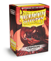 Dragon Shield Classic Sleeves - Crimson - 100ct
