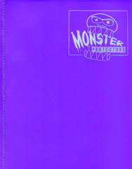 4-Pocket Monster Binder - Matte Purple