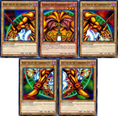 Exodia The Forbidden One Full 5-Card Set - Legendary Decks II - Common