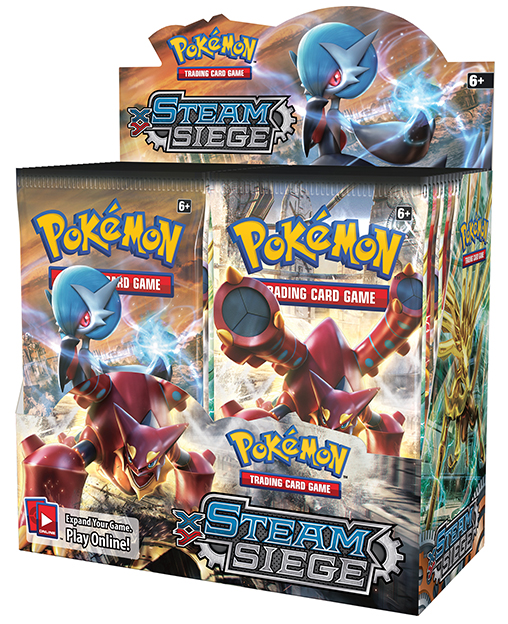 XY11 Steam Siege Booster Box