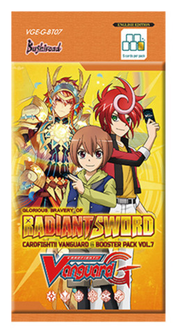VGE-G-BT07 Glorious Bravery of Radiant Sword Booster Pack