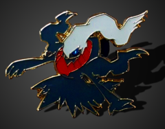 Darkrai Pin - Mythical Darkrai Collection Exclusive