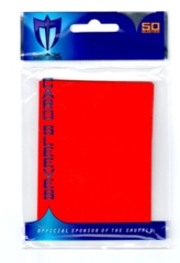 Max Protection Alpha Gloss Standard Size Sleeves - Red- 50ct