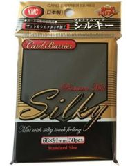 KMC Silky Black Sleeves (50ct)