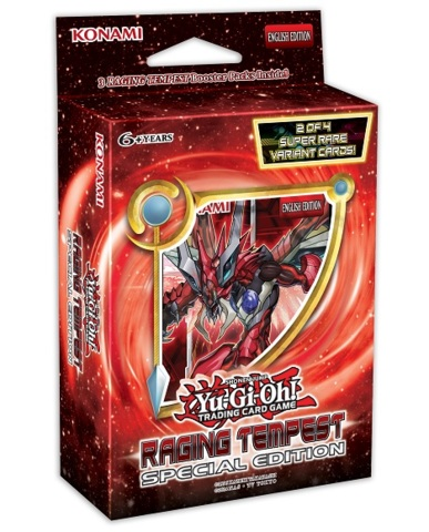 Yu-Gi-Oh! Raging Tempest RATE Special Edition