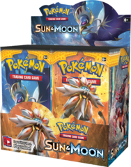 Sun & Moon Base Set Booster Box (English)