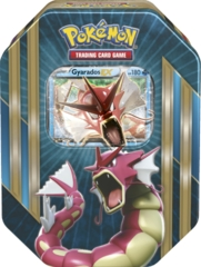 Pokemon TCG Triple Power Tin - Shiny Gyarados EX