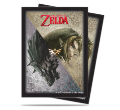 Ultra Pro Standard Size Legend of Zelda Twilight Princess Sleeves - 65ct