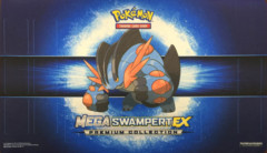 Pokemon Mega Swampert Playmat - Mega Swampert Premium Collection Exclusive