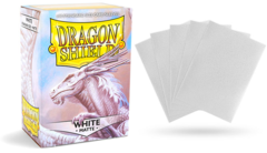 Dragon Shield Matte Standard-Size Sleeves - White - 100ct