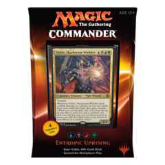 2016 Commander Series: Blue/Black/Red/Green UBRG Deck