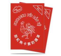 Ultra Pro Standard Size Sriracha Sleeves - 50ct