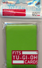 Max Protection Alpha Gloss Small Size Sleeves - Lime Green - 60ct