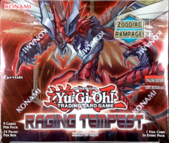 Yu-Gi-Oh! Raging Tempest Booster Box