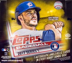 2017 Topps Baseball Series 1 JUMBO Box