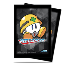Ultra Pro Standard Size Mega Man Met Sleeves - 50ct