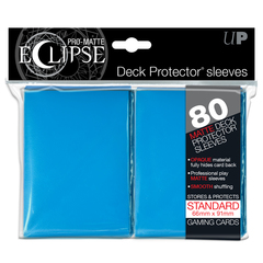 Ultra Pro Standard Size Light Blue PRO-Matte Eclipse Sleeves - 80ct