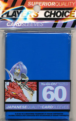 Player's Choice Yu-Gi-Oh Sleeves Pack of 60 in Blue
