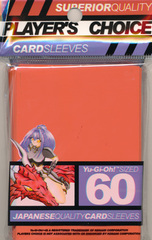 Player's Choice Yu-Gi-Oh Sleeves Pack of 60 in Orange