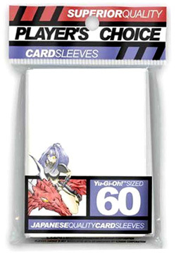 Players Choice Yu-Gi-Oh Sleeves Pack of 60 in White