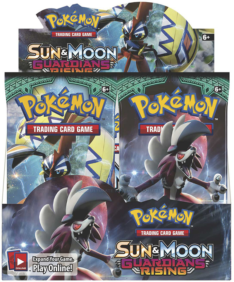 Pokemon Sun & Moon SM2 Guardians Rising Booster Box