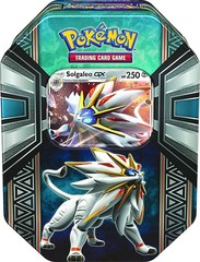 Pokemon Sun & Moon Legends of Alola Tin - Solgaleo
