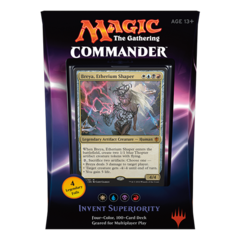 2016 Commander Series: White/Blue/Black/Red  WUBR Deck