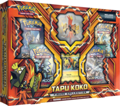 Tapu Koko Figure Collection