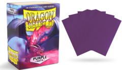 Dragon Shield Sleeves - Matte Purple - 100ct