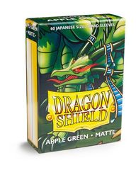 Dragon Shield Matte Japanese Mini-Size Sleeves - Apple Green - 60ct