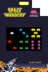 8-Bit Space Invaders D6 Dice Set