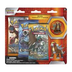 Legendary Beasts Collector's Pin 3-Pack Blister - Entei
