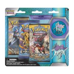 Legendary Beasts Collector's Pin 3-Pack Blister - Suicune