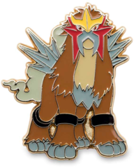 Entei Pin - Legendary Beasts Blister Exclusive