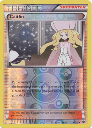 Caitlin - 78/101 - Uncommon - Reverse Holo - Pokemon Card ...