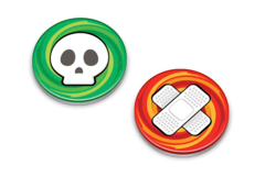 Pokemon Burn & Poison Counter Markers