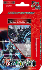 Force of Will Machina, the Machine Lord Seven Kings Starter Deck
