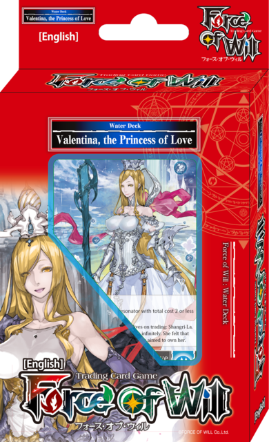 Force of Will Valentina, the Princess of Love Seven Kings Starter Deck