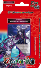 Force of Will Rezzard, the Undead Lord Seven Kings Starter Deck