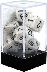 Chessex Dice CHX 25311 Speckled Polyhedral Arctic Camo Set of 7