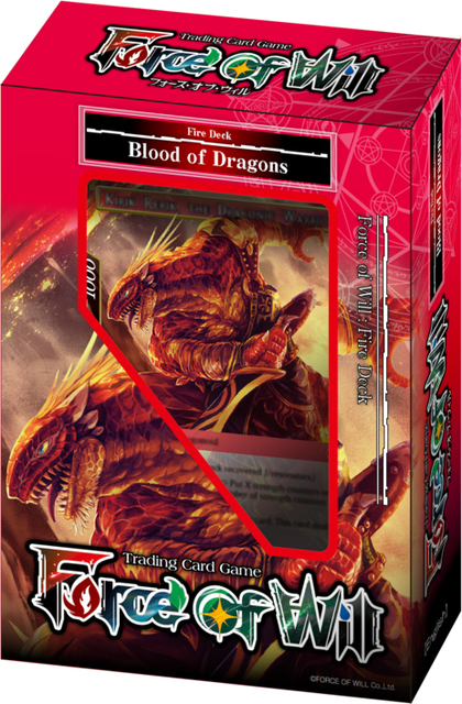 Force of Will New Legend Precipice Blood of Dragons Starter Deck