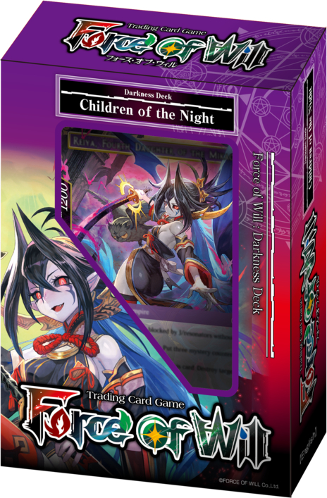 Force of Will New Legend Precipice Children of the Night Starter Deck