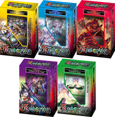 Force of Will Set of 5 New Legends Starter Decks