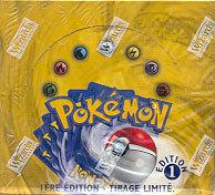 Pokemon Base Set 1st Edition Booster Box (French)