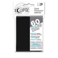 Ultra Pro Small Size Black PRO-Matte Eclipse Sleeves - 60ct