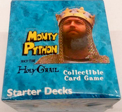 Monty Python and the Holy Grail Starter Decks Display Box
