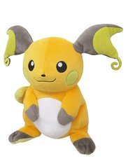 Japanese Pokemon Raichu Plush PP79 7